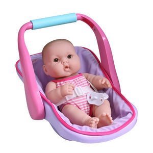 JC Toys Lots to Love Vinyl Doll in Baby Carrier 16132
