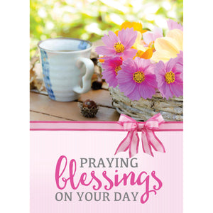 Coffee & Flowers Note Cards 4052