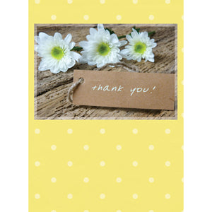Flower Thank You Note Cards 4057