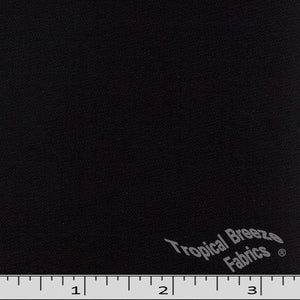 Black Klara 100% polyester fabric