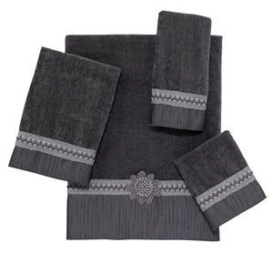Avanti Linens Granite Braided Medallion Towel Set 366