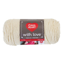 RED HEART with Love E400.1939 Yarn Papaya