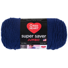 Soft Navy Red Heart Yarn.