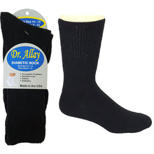 Dr. Allay black diabetic socks