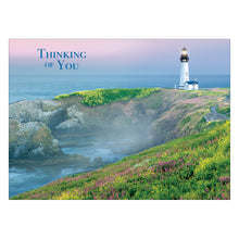 Thinking of You Light House card.