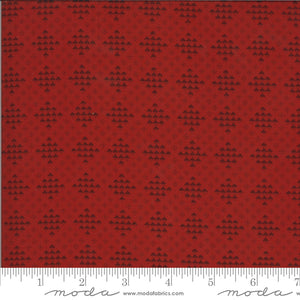 Redwork Gatherings Cotton Fabric Collection 4911