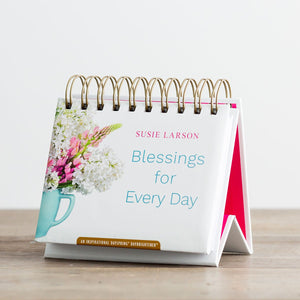 Blessings for Every Day Perpetual Calendar Day Brightener 49911