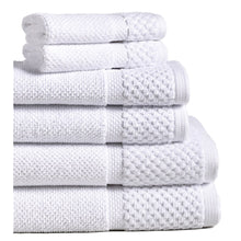 White Diplomat Hotel Towels and Washcloths