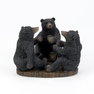 Bear toothbrush holder.