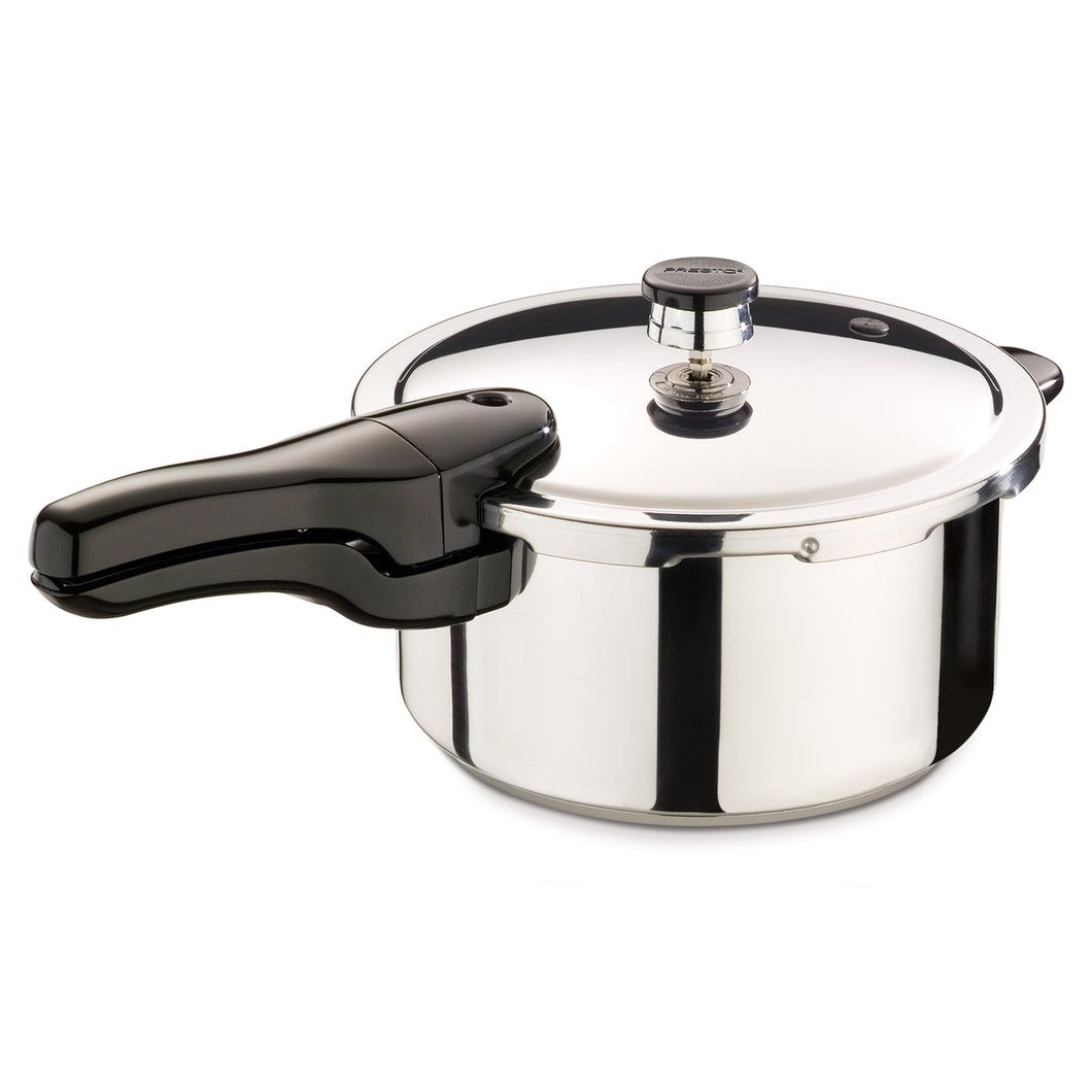 Presto 4-Qt. Stainless Steel  Pressure Cooker 01341