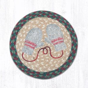 Winter mittens coaster