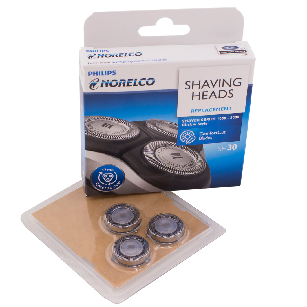 Replacement shaver heads for Philips Norelco