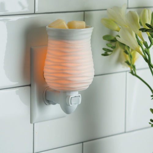 Pluggable Wax warmer.
