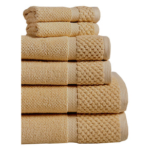 Taupe Diplomat Hotel Towels and Washcloths