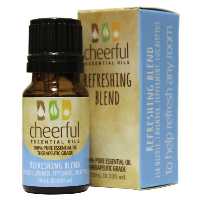 Cheerful essential oils refreshing blend.