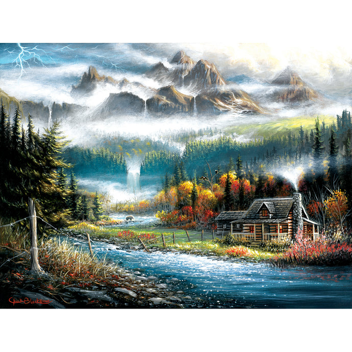 Valley Paradise 500 PC Puzzle 55125