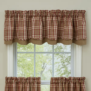 Cumberland Curtains lined valance