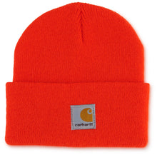 Orange kids beanie