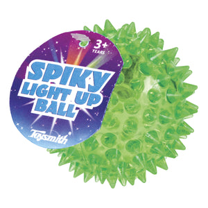 flashing spiky light up ball