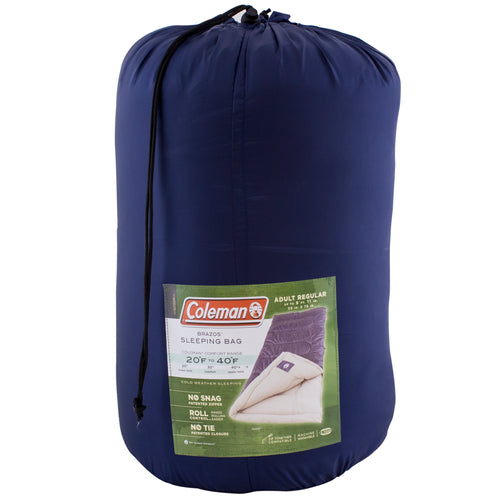 Coleman sleeping bag.