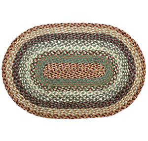 Capitol Earth Rugs Braided Jute Rug.