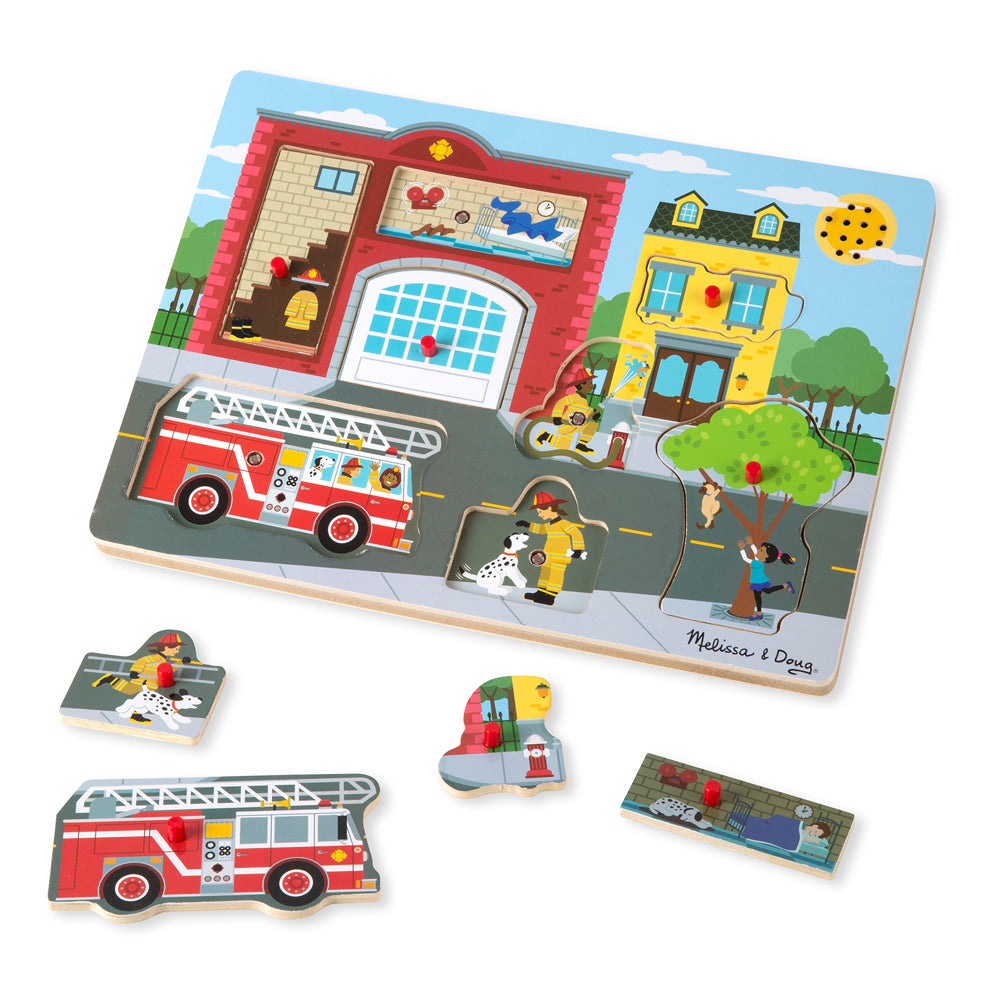 Fire Station sound puzzle