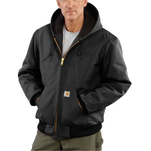Black Carhartt coat