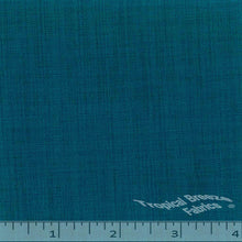 Blue teal dress fabric