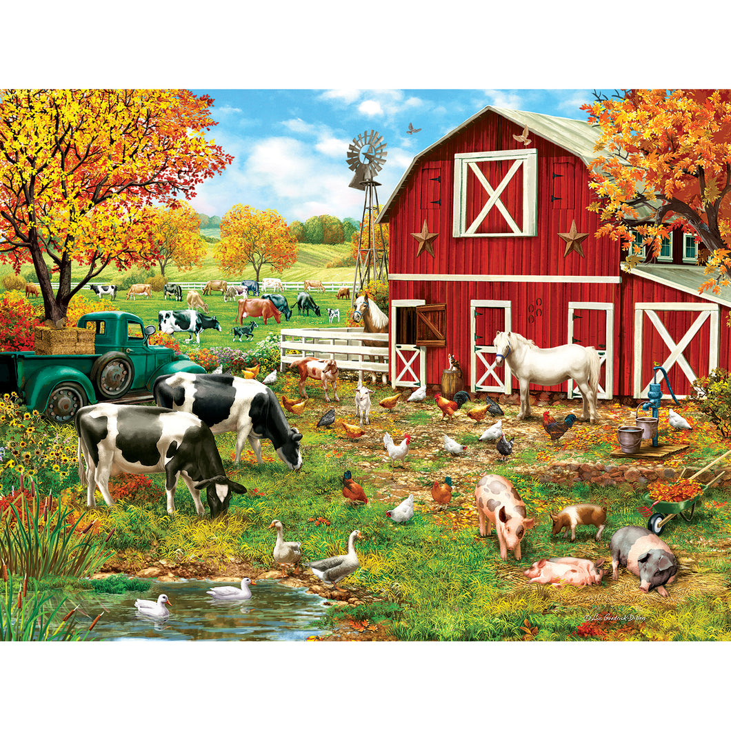 A Day on the Farm 300 PC Puzzle 59760