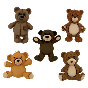 Teddy Bear shank buttons