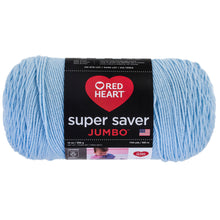 Light Blue Jumbo Red Heart yarn.