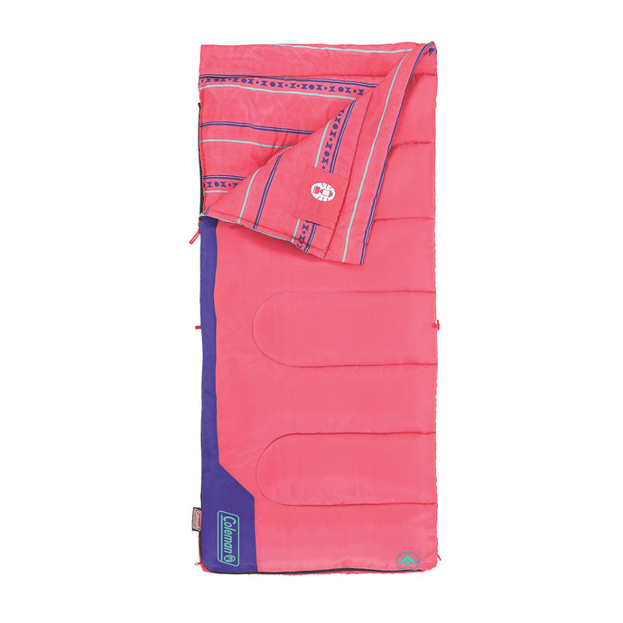 Coleman Kids 50 Sleeping Bag Pink