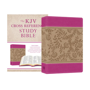 Peony Blossoms KJV Cross Reference Study Book.