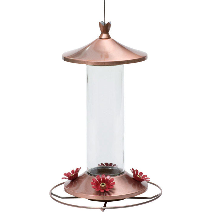 Perky Pet Copper Hummingbird Feeder