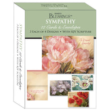 Boxed sympathy cards.