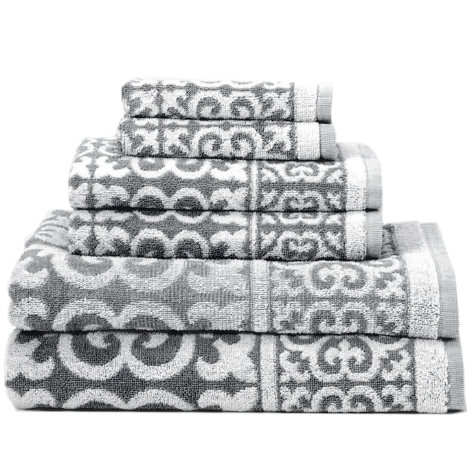 Silver Arabesque Hotel towels