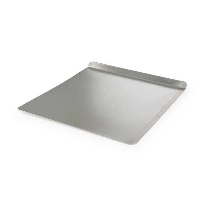 Air-baked cookie sheet, silver color.