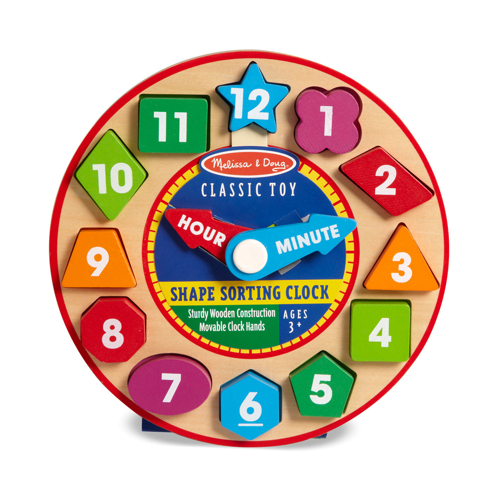 Melissa & Doug toy clock