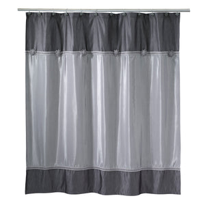 Avanti Linens Granite Braided Medallion Shower Curtain 11166H
