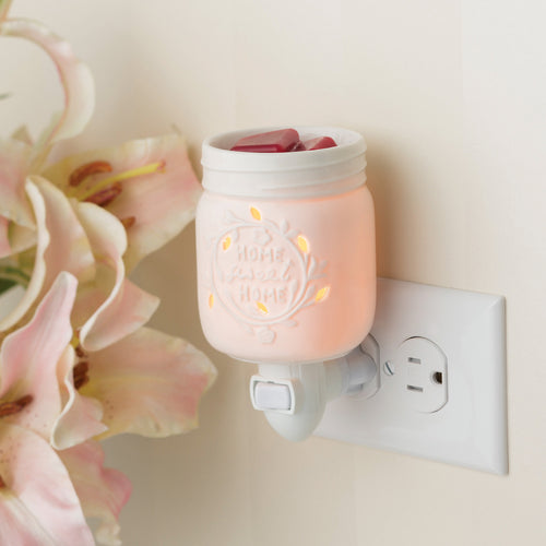 Mason Jar Candle Warmer.