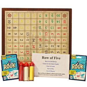 Row of Five game