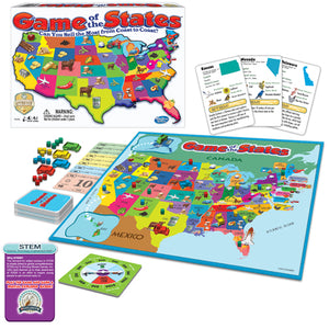 Hasbro Winning Moves Games Game of the States 1206