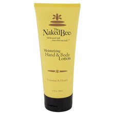 Tube of The Naked Bee Coconut & Honey Hand & Body Lotion.