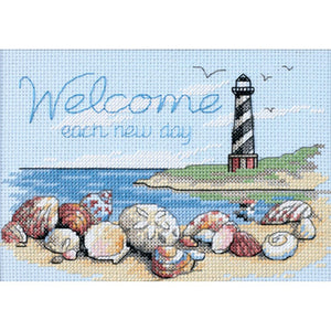 Welcome Each New Day Cross Stitch Kit 65032
