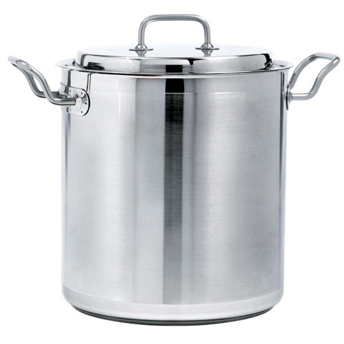 Stainless Steel Flat Bottom Stock Pots 65