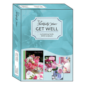 Boxed Cards Get Well Teacup Wishes 658-00565-000