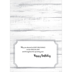 Boxed Cards Rustic Birthday Blessings 658-00798-000