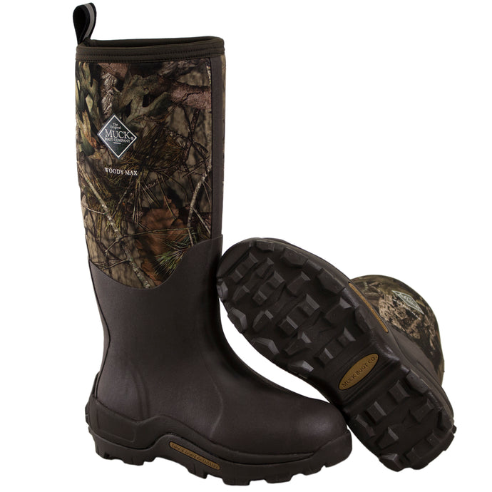 Woody Max Muck Boots- Tall boots with camo.