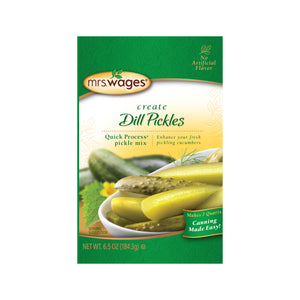 Pack of Mrs. Wages dill pickle mix.
