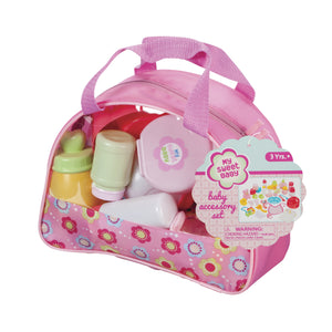 doll accessories in carry case